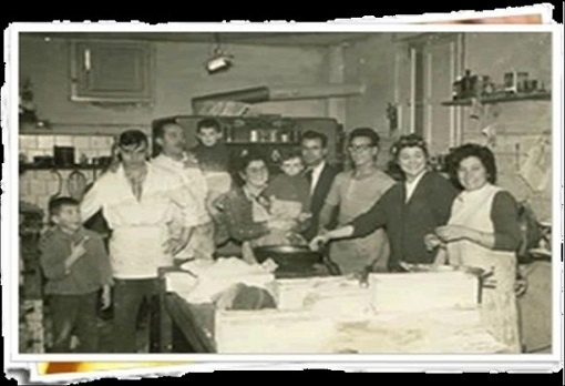 Fundadores de Pastelería Larrosa